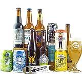 HonestBrew Craft Beer Bundle - 12 Craft Beers, Tasting Glass & Bottle Opener