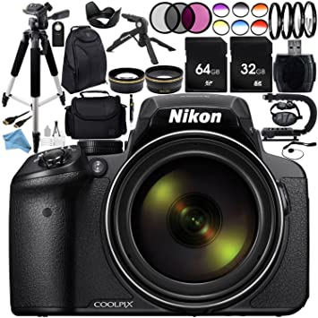 Amazon Nikon COOLPIX P900 Digital Camera with 83x Optical