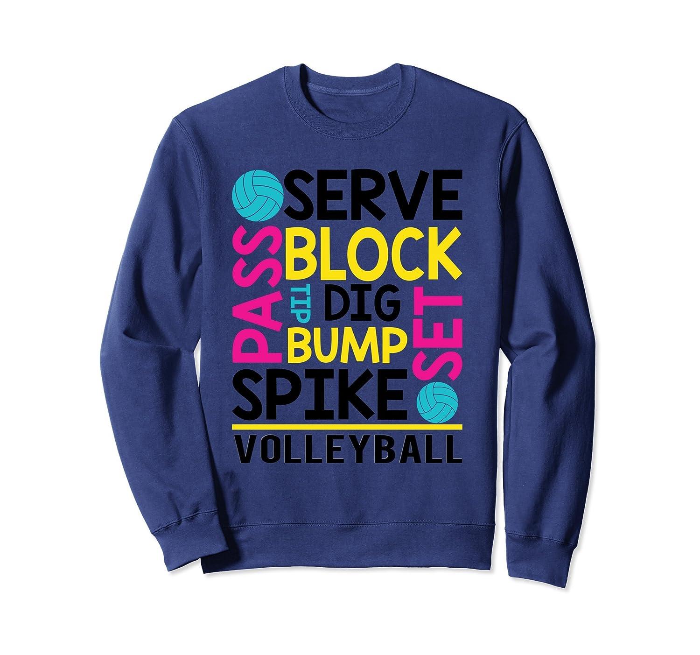 Awesome Volleyball Sweatshirt   Volleyball Lover Sweatshirt-ln