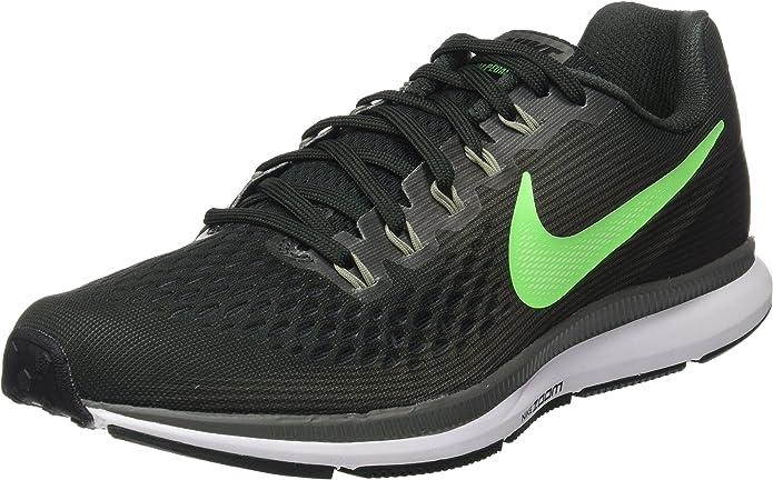 Nike Air Zoom Pegasus 34, Zapatillas de Running para Hombre, Verde ...