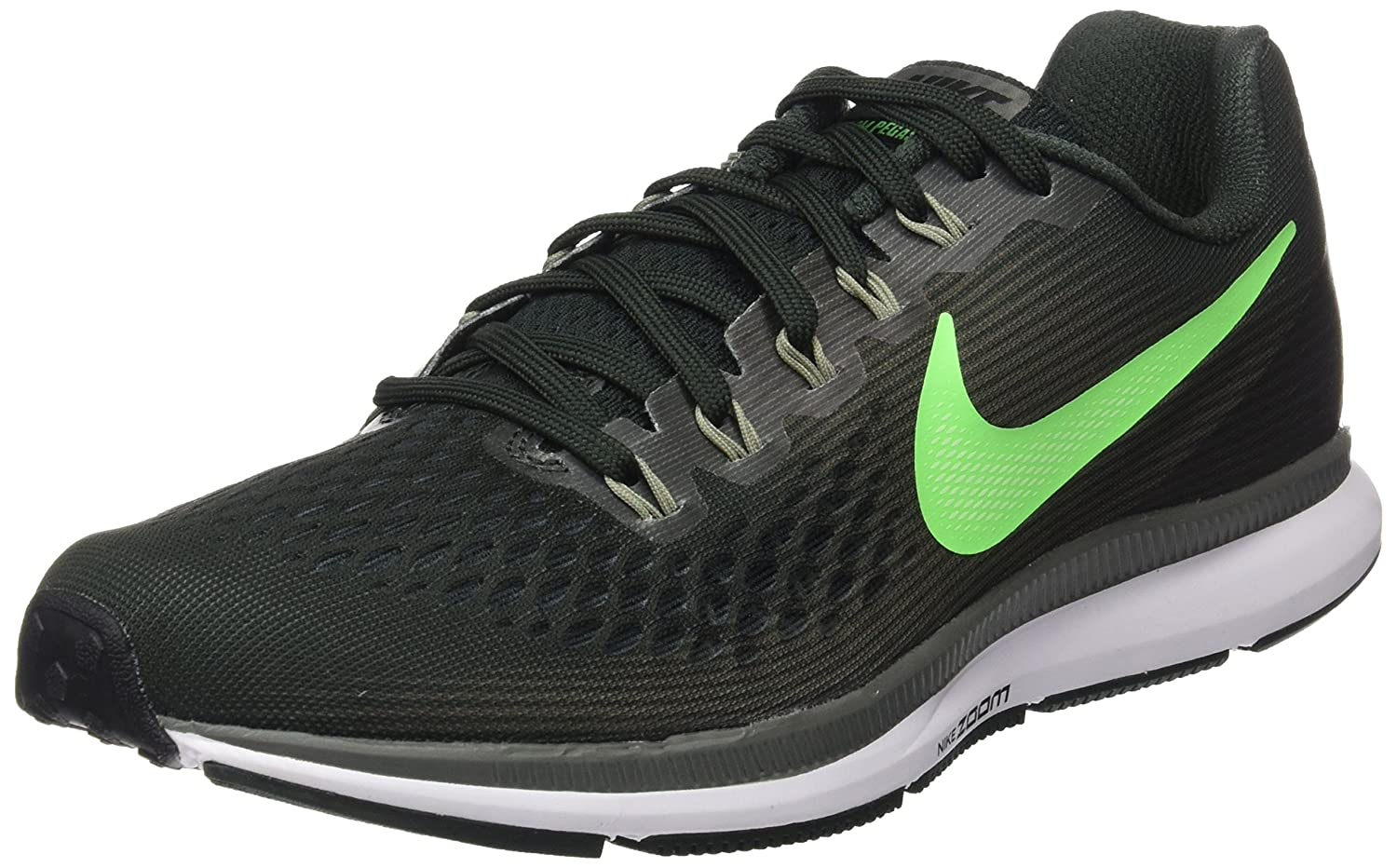 NIKE Men's Air Zoom Pegasus 34, Outdoor Green/Rage Green B06X6GFDY8 12 D(M) US|Outdoor Green/Rage Green