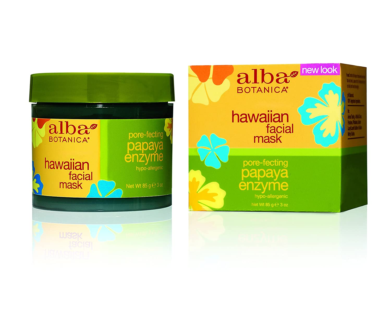 ALBA BOTANICA Face Mask Papaya Enzyme, 3 Ounces 00810