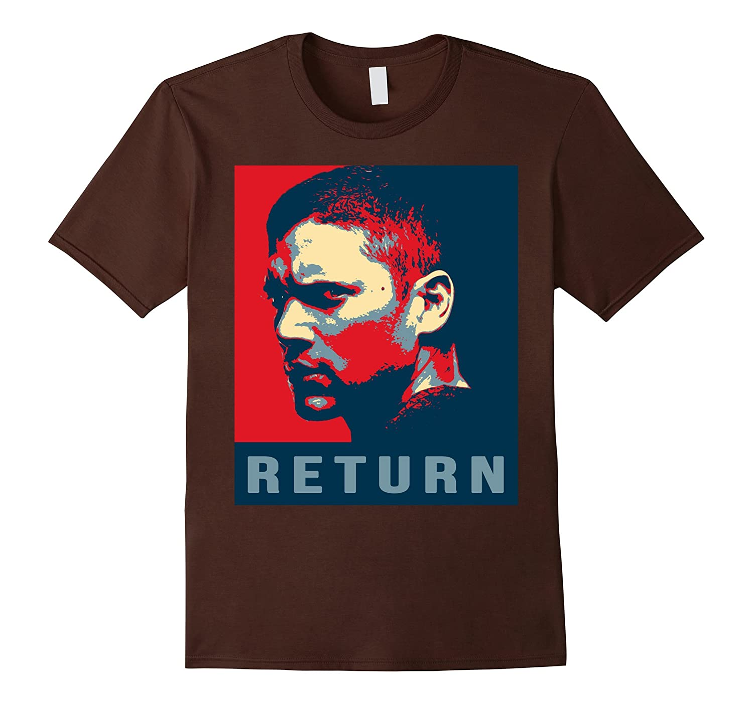 return Prison Break Wentworth Miller T-Shirt-TD