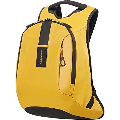Samsonite Paradiver Light Mochila tipo casual, M (40 cm 16 L), Amarillo (Yellow)