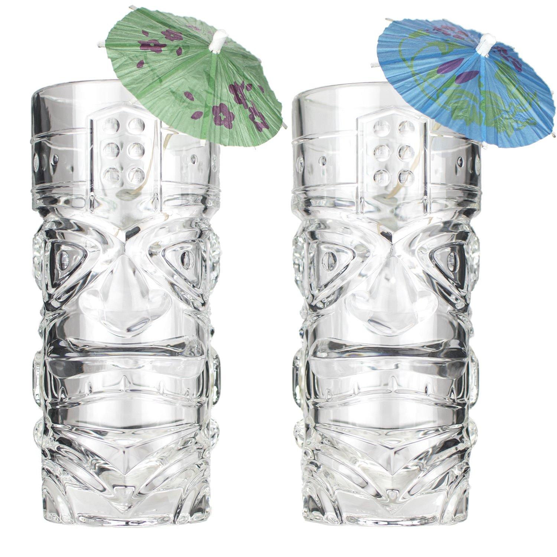 The Original Premium 15oz Tiki Glass ~ Set of 2 ~