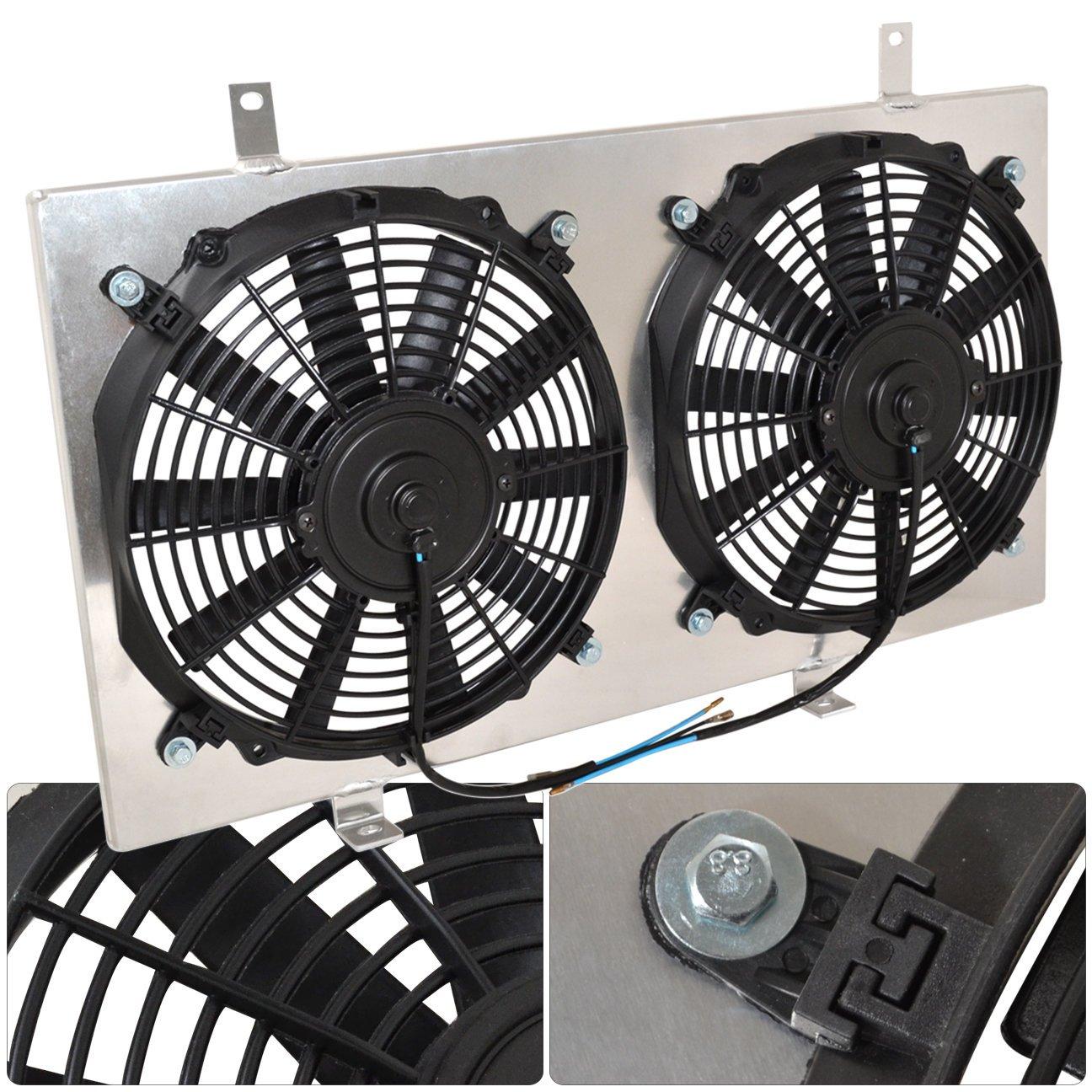 Amazon.com: For Nissan 240SX S13 Manual MT Transmission Aluminum Radiator  Fan Shroud Kit: Automotive