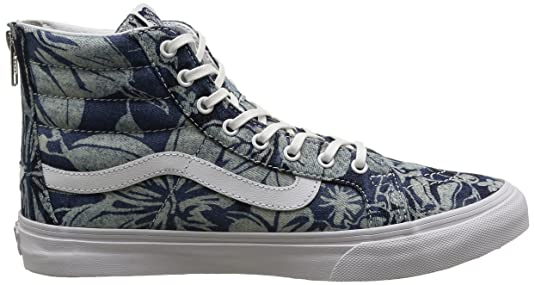 Vans Sk8-hi Slim Zip, Sneakers Hautes Mixte Adulte: Amazon.fr: Chaussures  et Sacs