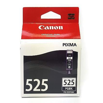 Canon PGI-525 Cartucho de tinta original Negro para Impresora de Inyeccion de tinta Pixma MX715-MX885-MX895-MG5150-MG5250-MG5350-MG6150-MG6250-MG8150-...