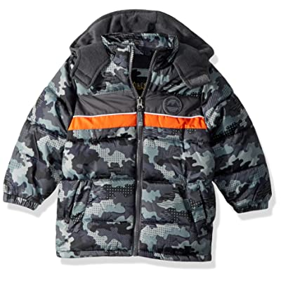 iXtreme Baby Boys Infant Camo Puffer W/Rubber Patch