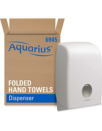 Aquarius 6945 Dispensador de Toallas Secamanos Interplegadas, Blanco