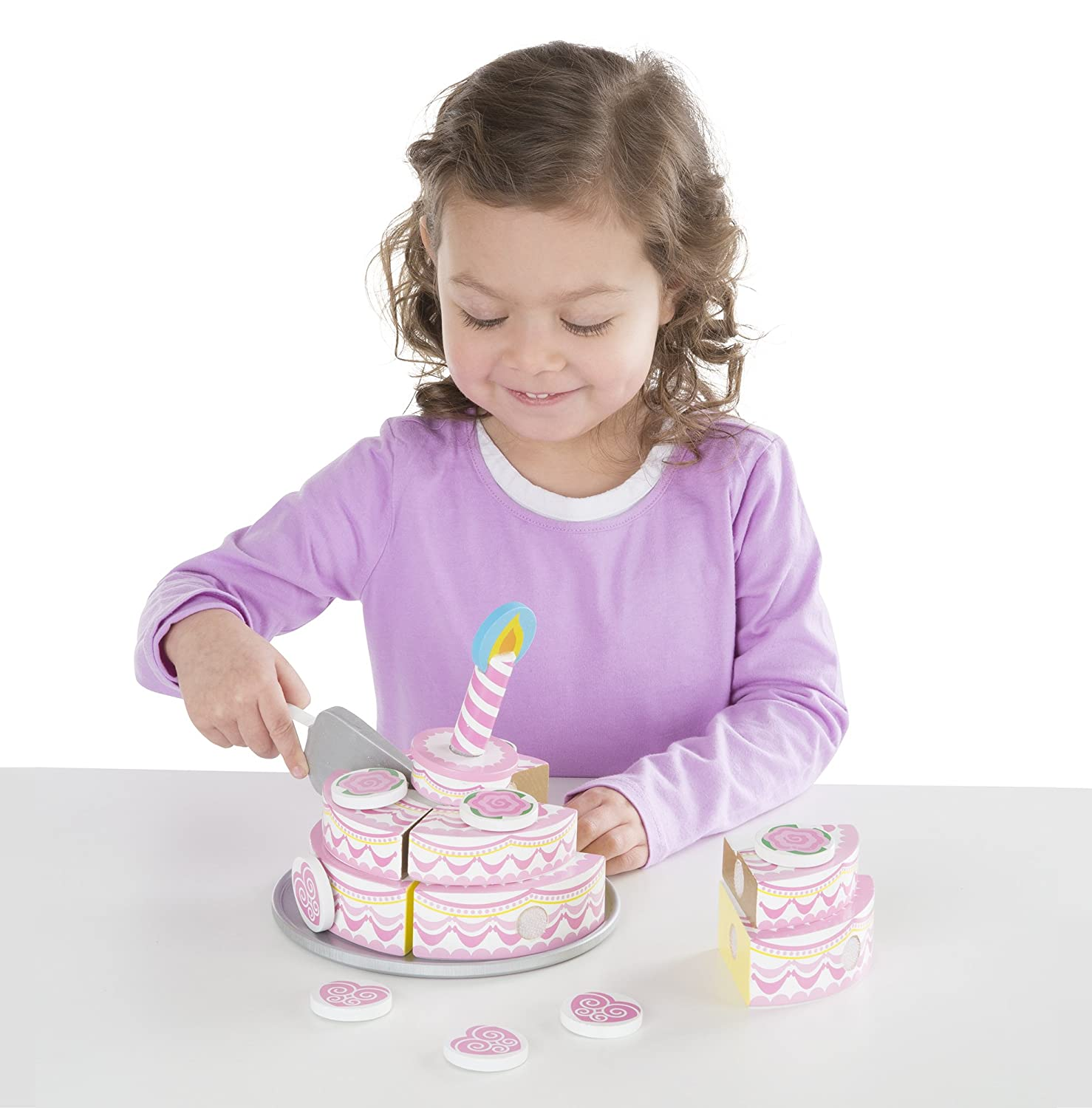 Melissa & Doug Triple Layer Party Cake perfect gift 3 year old girl