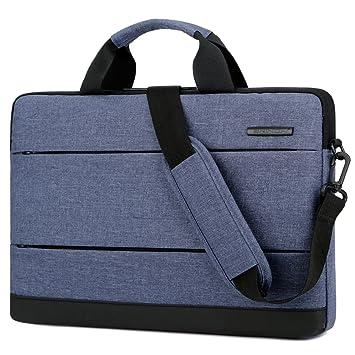 Brinch Bolso para ordenador de 15 pulgadas con Correa de equipaje,bolso de hombro portátil