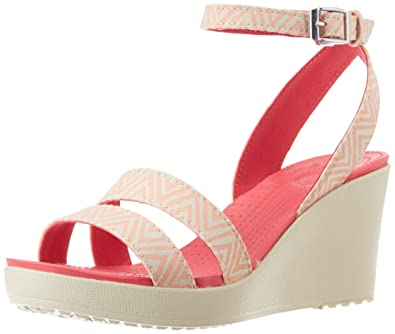 875c50aee577 crocs Women s Leigh Graphic Wedge