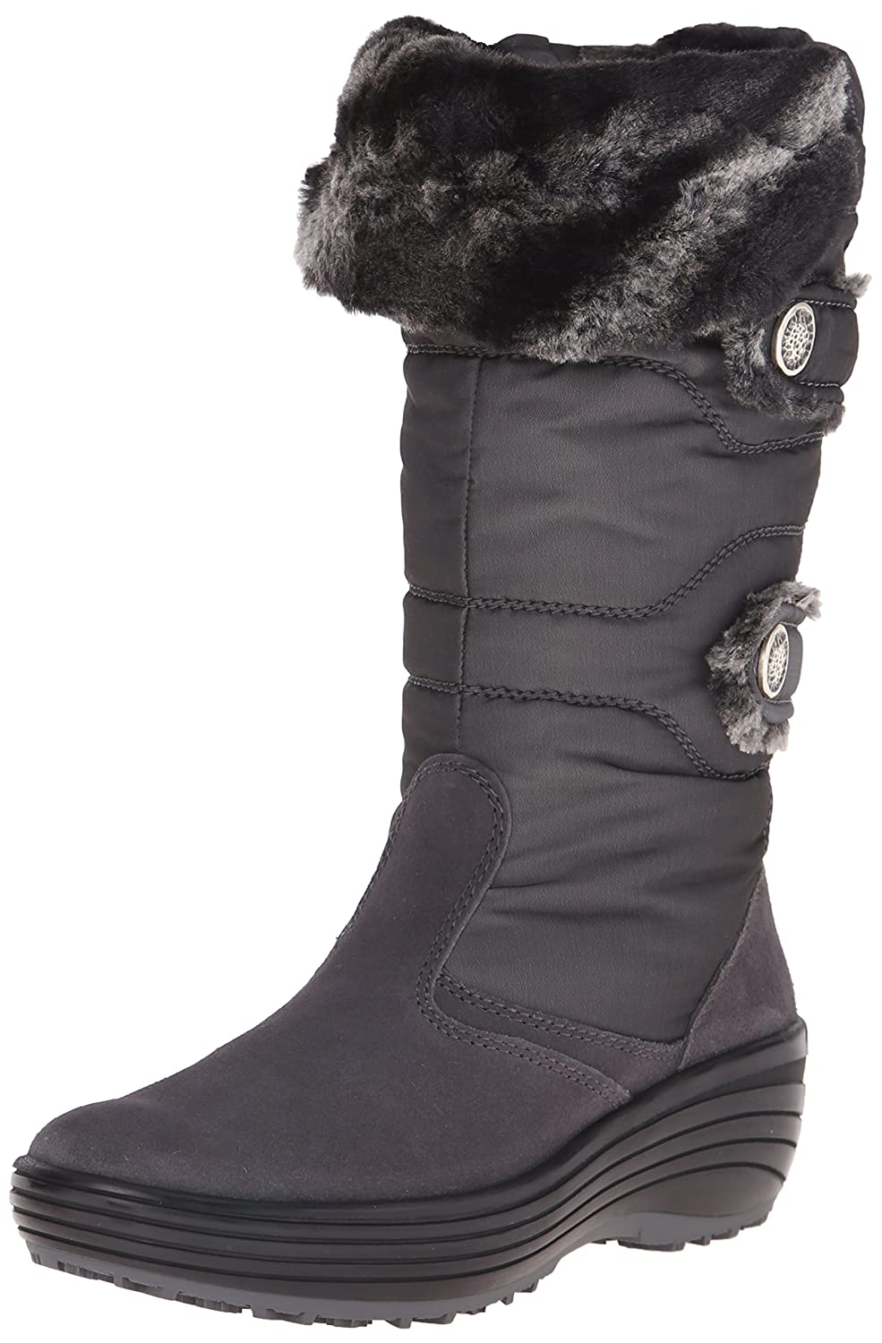 Pajar Women's Chloe Boot B0114SMBP8 39 EU/8-8.5 M US|Charcoal
