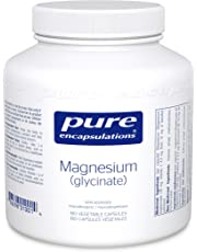Pure Encapsulations - Magnesium (Glycinate) - Supports Enzymatic and Physiological Functions* - 180 Vegetable Capsules