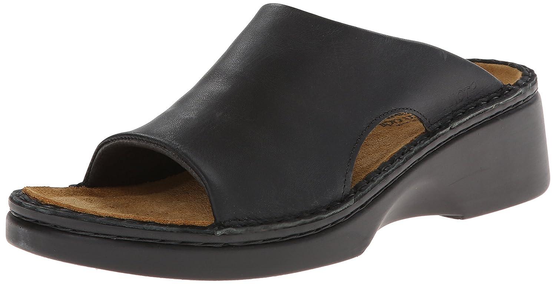 NAOT Women's Rome Wedge Sandal B001BBLMJ0 38 M EU / 7 B(M) US|Black
