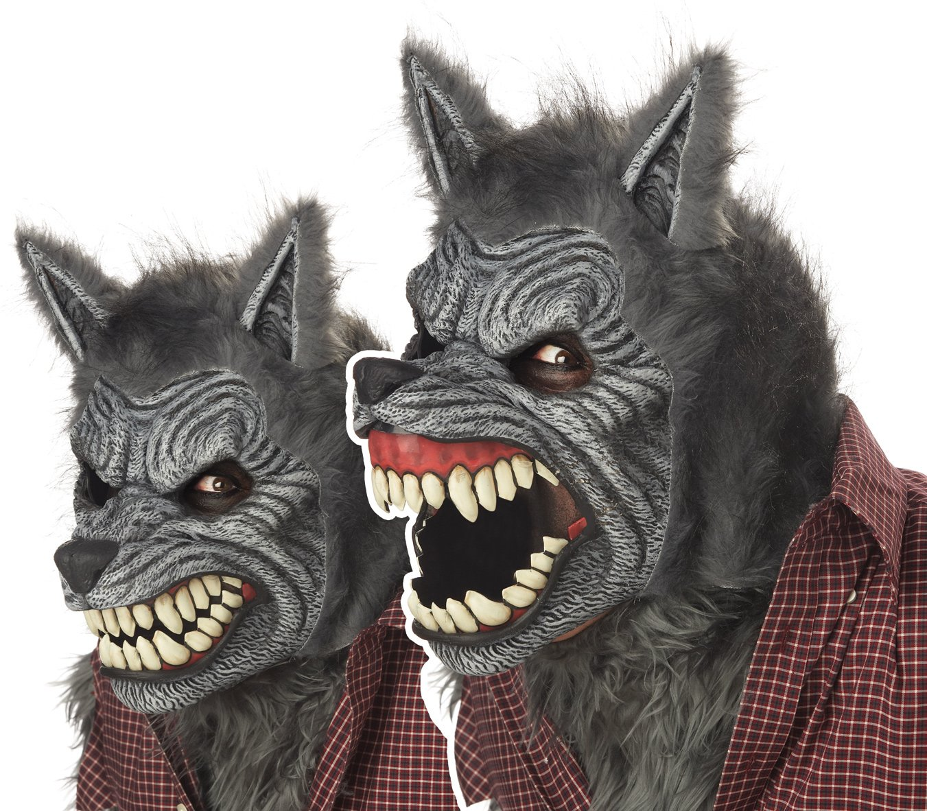 Werewolf Ani-Motion Adult Mask - One-Size California Costumes 60305