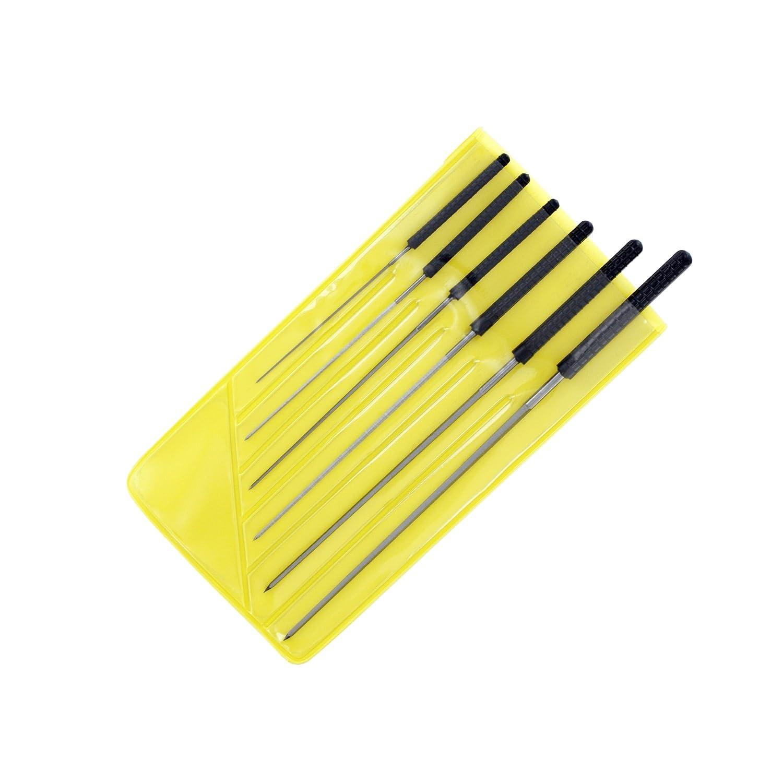 Modelcraft 0.6-2.0 mm Cutting Broach Set, Grey Shesto Ltd PBR2194