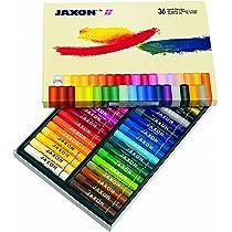 Honsel Art Products 47436 Jaxon - Caja de 36 ceras al óleo [Importado de Alemania] , color/modelo surtido: Amazon.es: Juguetes y juegos