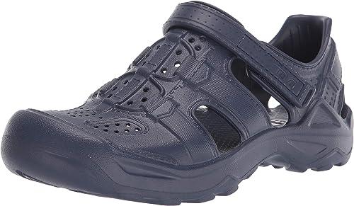 Teva Mens Omnium 2 Leather Open Toe Sandals