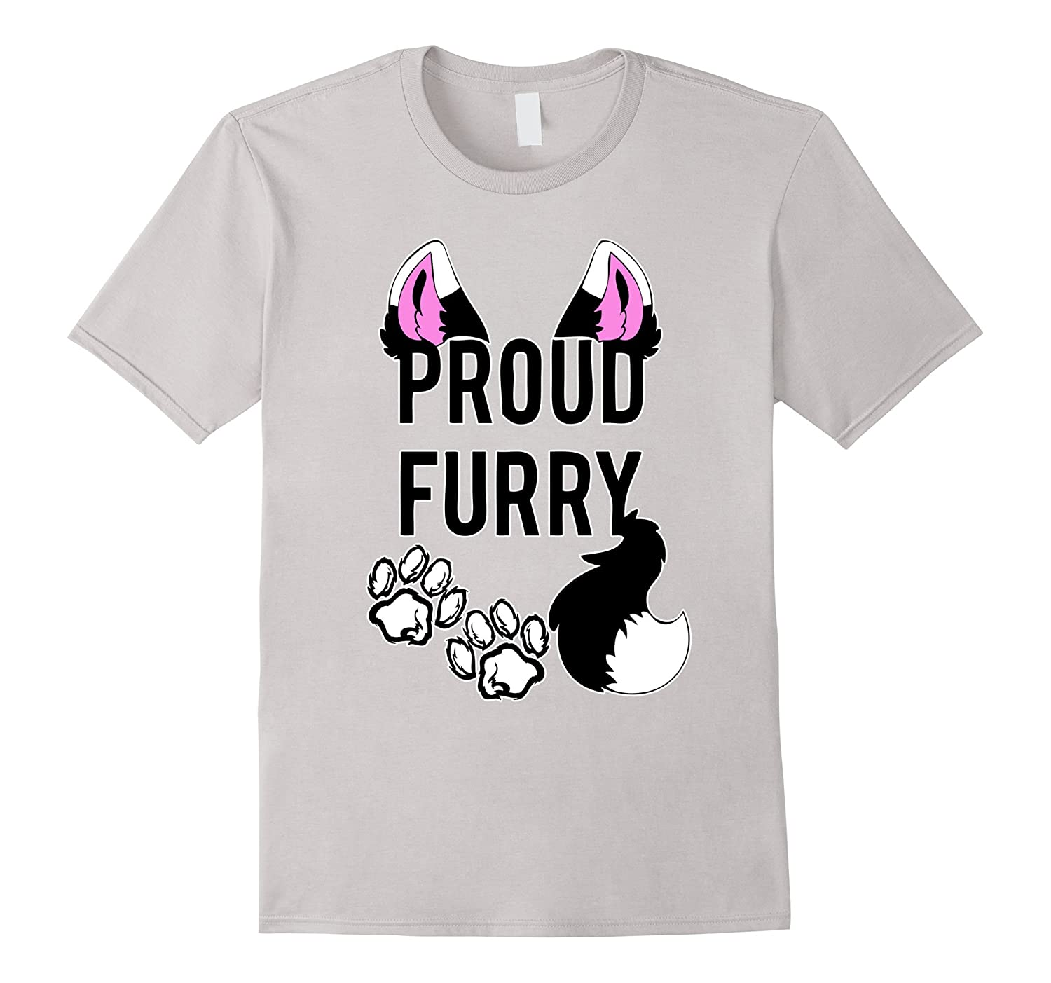 Proud Furry Furries Animal Pride Brony Cosplay Costume Shirt-BN