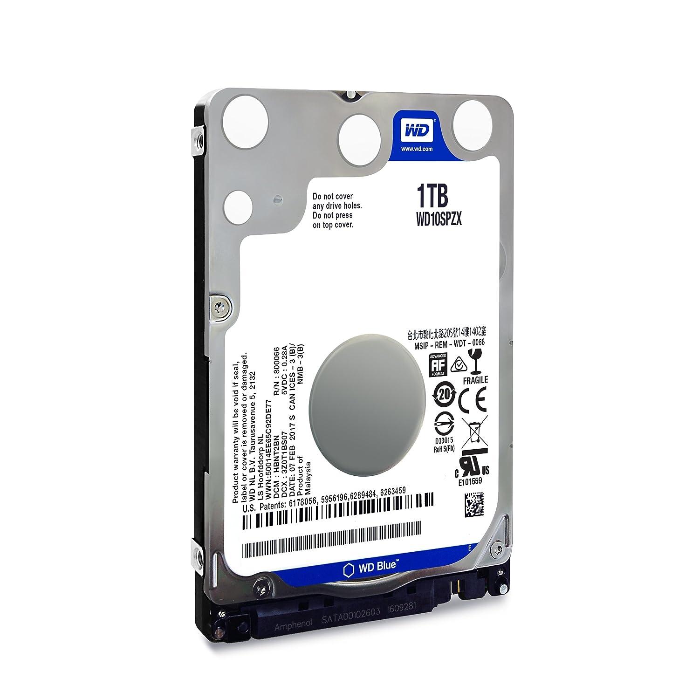 WD Blue 6TB PC Hard Drive - 5400 RPM Class, SATA 6 Gb//s, 64 MB