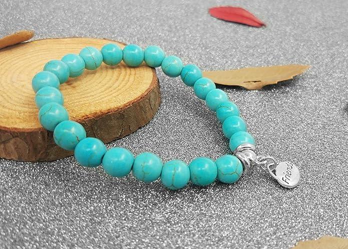 Amazon.com: SUYI personalizada colgante turquesa Beads ...
