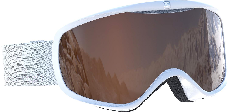 Sistema Airflow Intercambiable para Personas con Gafas de Vista Gafas de esqu/í para Mujer Tiempo Variable Pantalla Naranja Sense Access Salomon