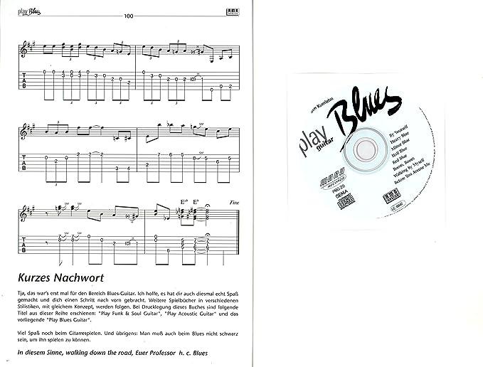 Play Blues Guitar – Solo de y ritmo parte técnicas de guitarra ...
