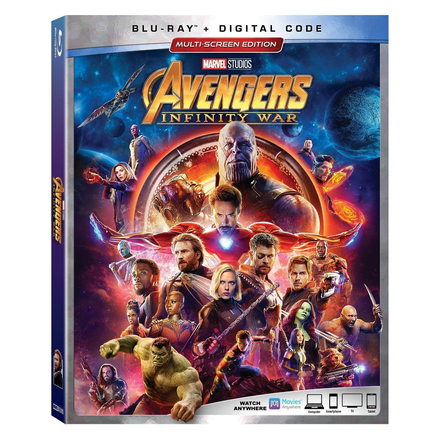 Avengers: Infinity War [Blu-ray] (Bilingual) Robert Downey Jr. Chris Hemsworth Mark Ruffalo Chris Evans