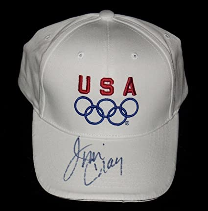 106979b7882027 Jim Craig Autographed Usa Olympics Hat (1980 Us Hockey Team) - W/Coa! -  Autographed NHL Hats at Amazon's Sports Collectibles Store