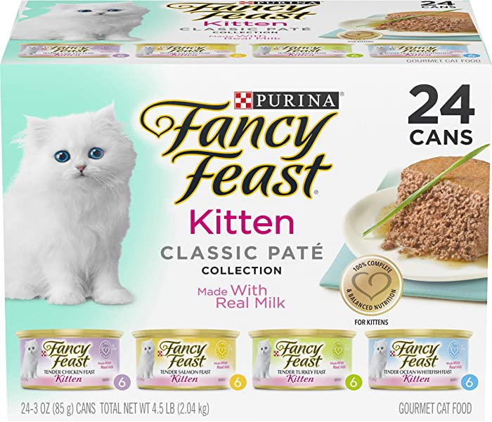 Top 10 Fancy Feast Gourmet Cat Food Classic