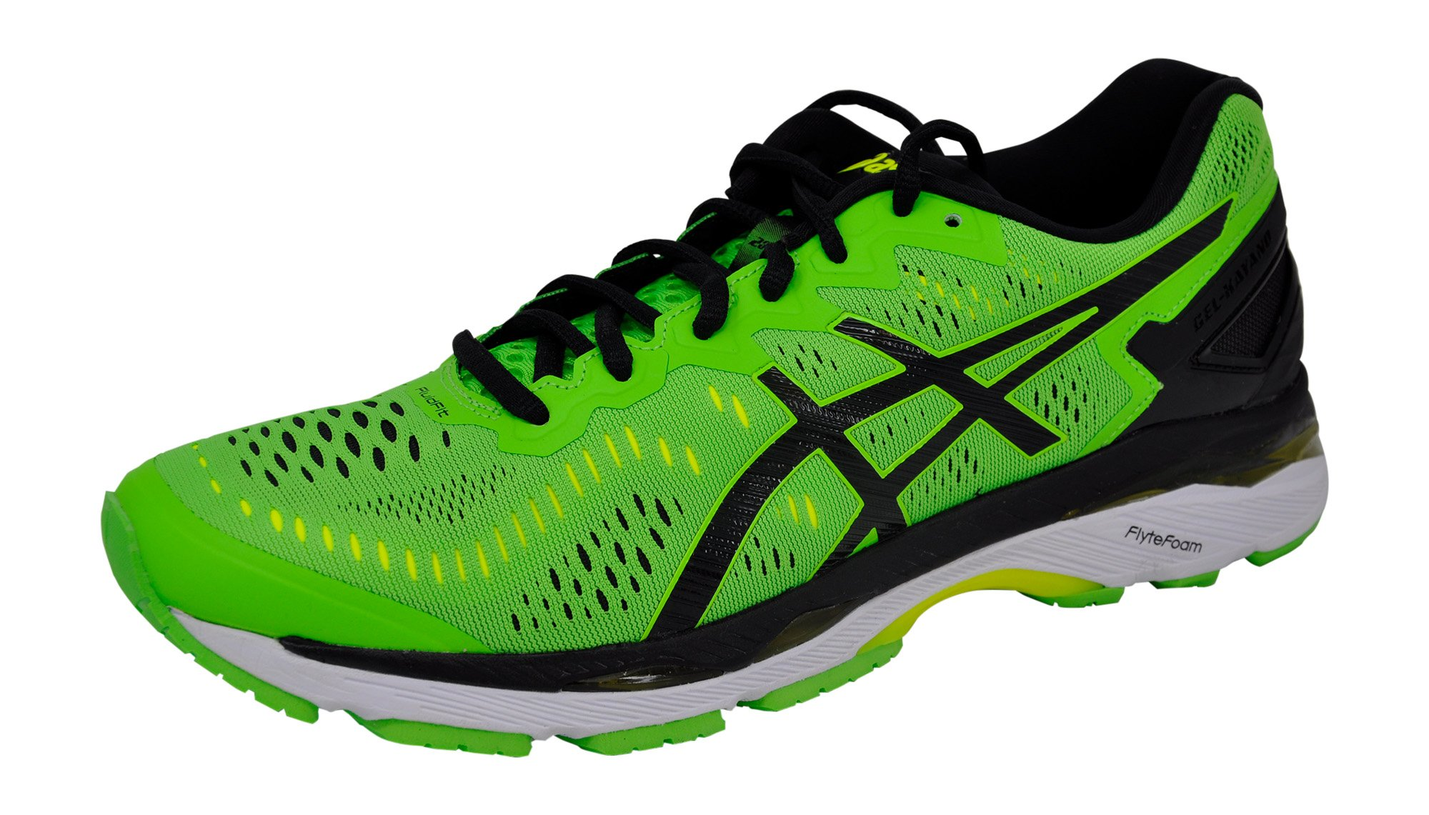 Galleon Asics Mens Gel Kayano 23 Running Shoe Green