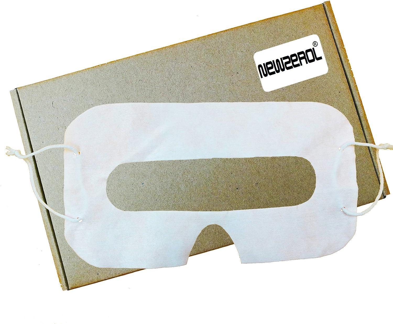 [50 Piezas] Orzero® para VR Cubierta de la Cara Cubierta de los Ojos Auriculares de Realidad Virtual Desechables