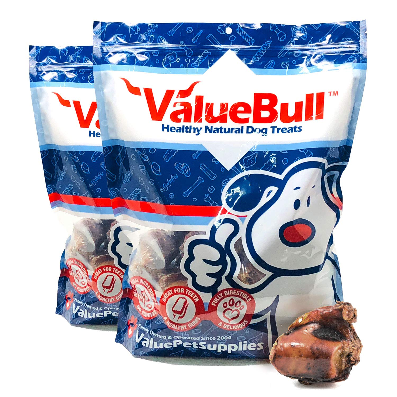 ValueBone USA Beef Knee Cap Dog Chews, 50 Count by ValueBone