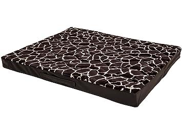 Colchón para perros Jumbo, de CopcoPet, cama lavable, hecha de piel sintética,