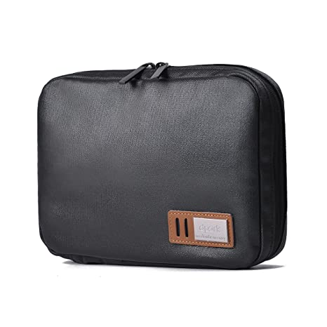 636524a17fb Beschan Canvas Electronics Travel Organizer Waterproof Universal Cable Gear  Organizer Accessories Storage Bag Case with 3