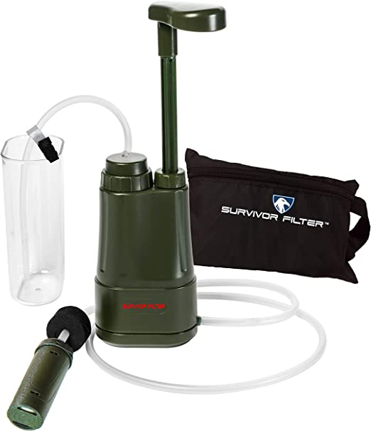 Details about  /Personal Portable Water Purifier Filter Emergency Survival Outdoors White