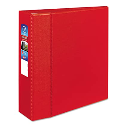amazon com avery heavy duty binder with 4 inch one touch ezd ring