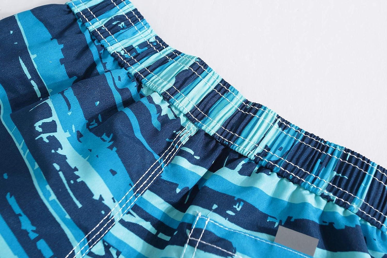 Kqpoinw Costumi da Bagno per Bambini Costumi da Bagno per Bambini Quick Dry Pantaloncini da Spiaggia Traspiranti Costumi da Bagno per Beb/è per Bambini