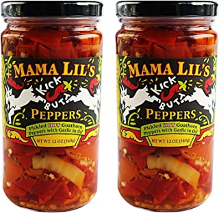 product image for Mama Lil's Kick Butt Goathorn Peppers, 12 oz (Pack of 2)
