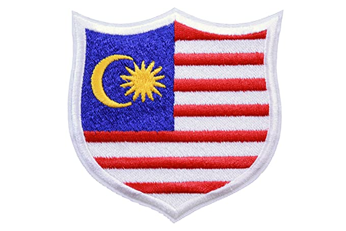 Amazon.com: World Flags Embroidered Patch Shield (3