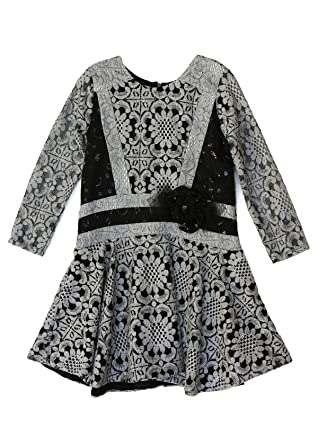 26d33d1f822 Isobella Chloe Little Girl 4 5 6 6X Clothes Dress Winter Fall Fancy Holiday  Xmas Christmas