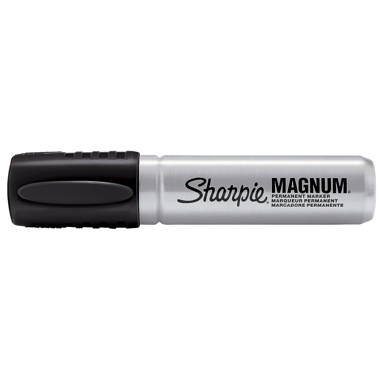 amazon com sharpie magnum permanent markers chisel tip black