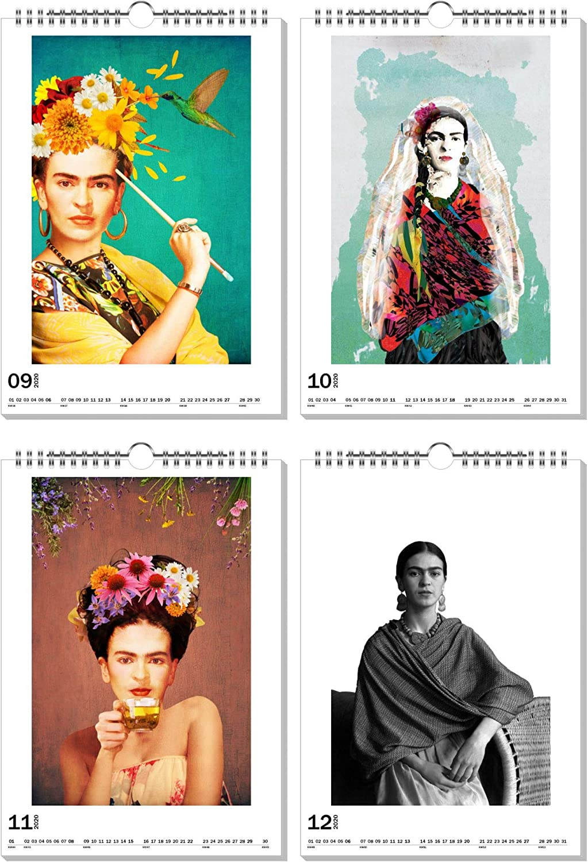 artboxONE Kalender 2020 Colorful Buddha Wandkalender A2 Menschen