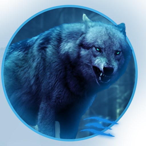 Amazon Com Glow Wolf Live Wallpaper Appstore For Android