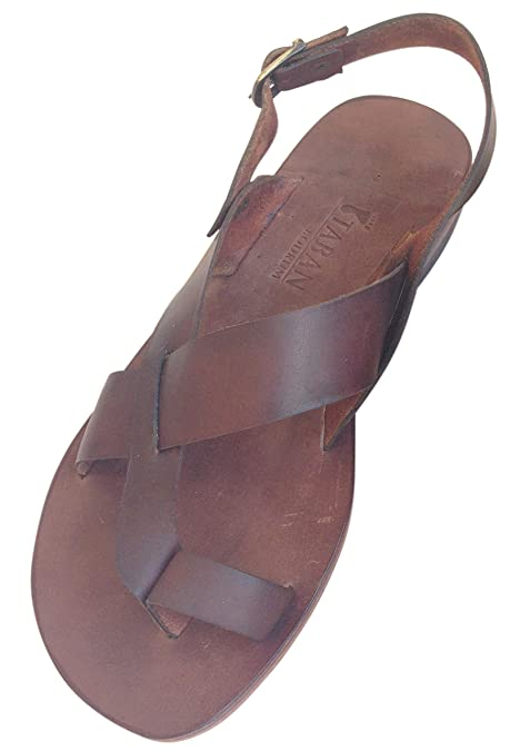 d35760b8b620 Bodrum Sandals Men s Handmade Leather Sandal Aias (45 EU MEN ...