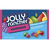JOLLY RANCHER Gummies Candy, Assorted Flavors, 4.5 Ounce