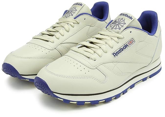 acd871a22c4 Reebok Classic Leather - Zapatillas de cuero para hombre  Reebok   Amazon.es  Zapatos y complementos
