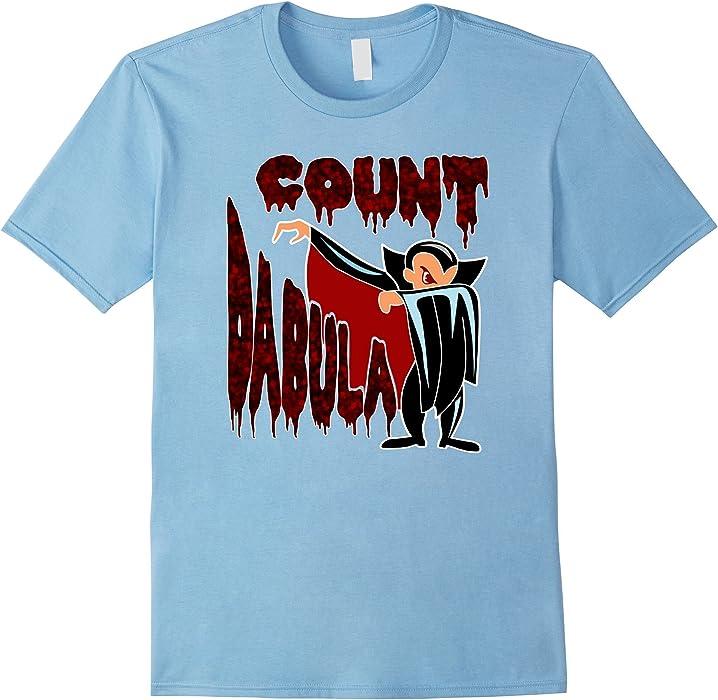 ff68bec9 Amazon.com: Mens Funny Halloween Dracula Dab Shirt 2XL Baby Blue ...